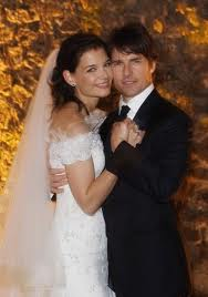 Katie Holmes and Tom Cruise wedding