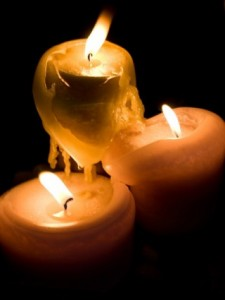 Newtown School Shooting candle vigils