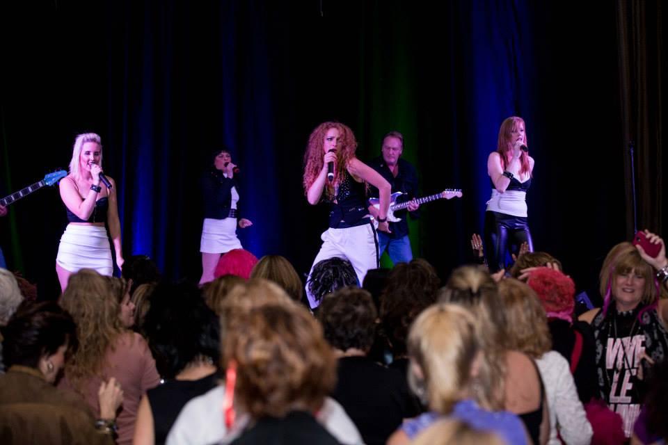 girls getaway concert