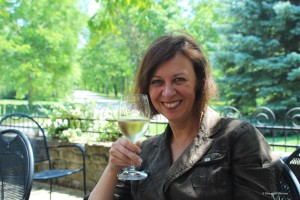 Shannon Skinner at The Grange of Prince Edward County winery and vineyard