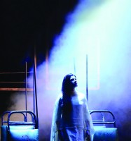 Nirbhaya, the play, performer Japjit Kaur by photographer William Burdett-Coutts
