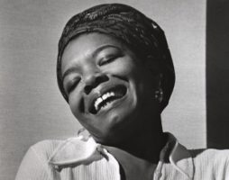 Maya Angelou on International Women's Day