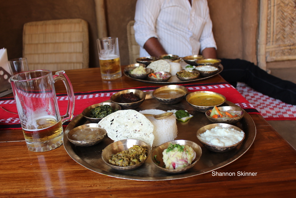 Assamese food in Shannon's Travels