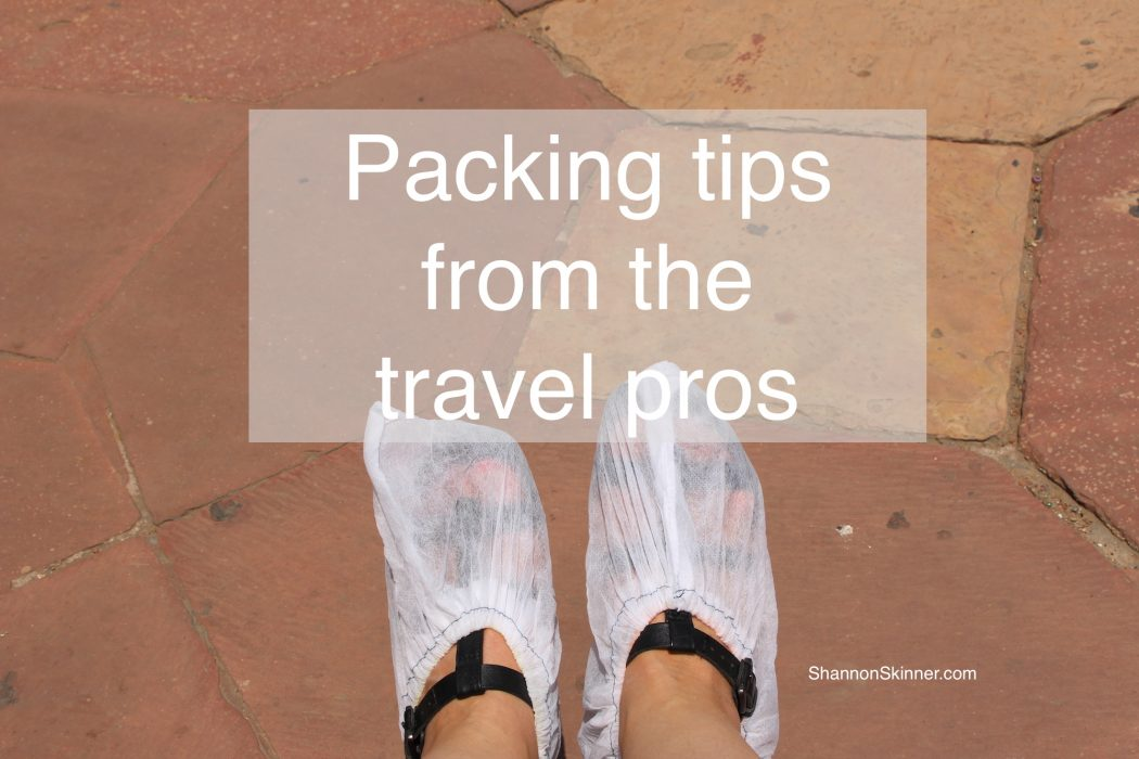 packing tips from travel pros