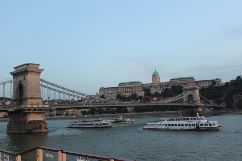 chain bridge, budapest, hungary, viking river cruise, danube, travel, Europe