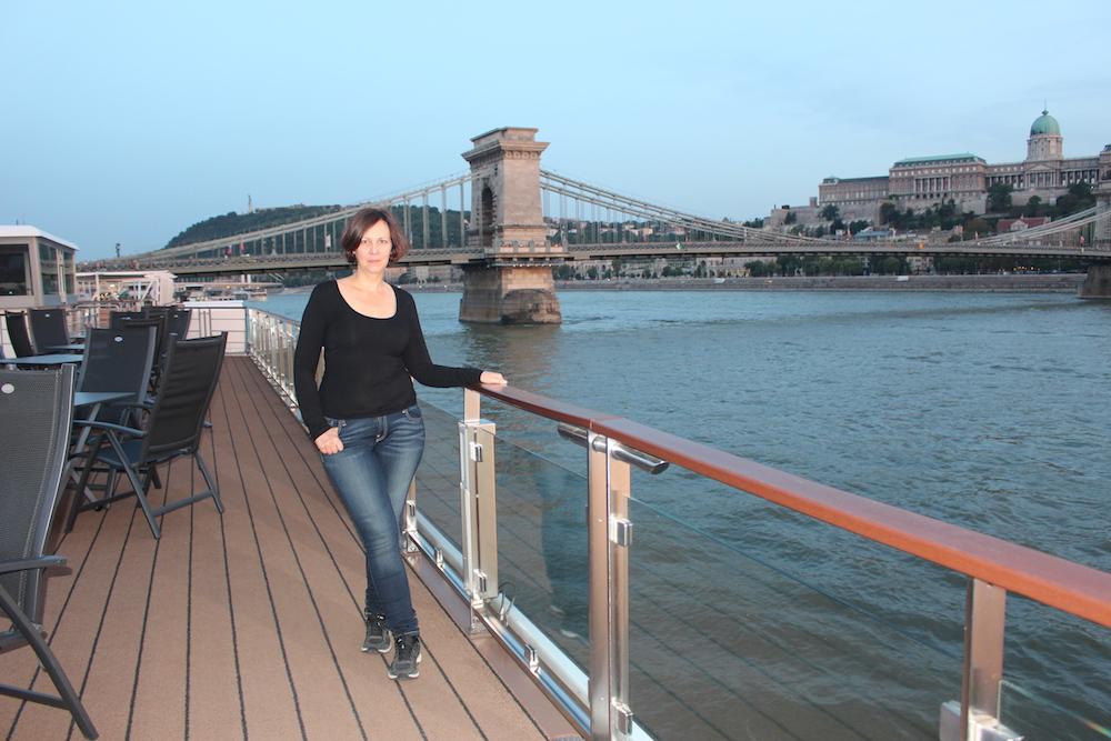 chain bridge Budapest Hungary travel viking river cruise danube