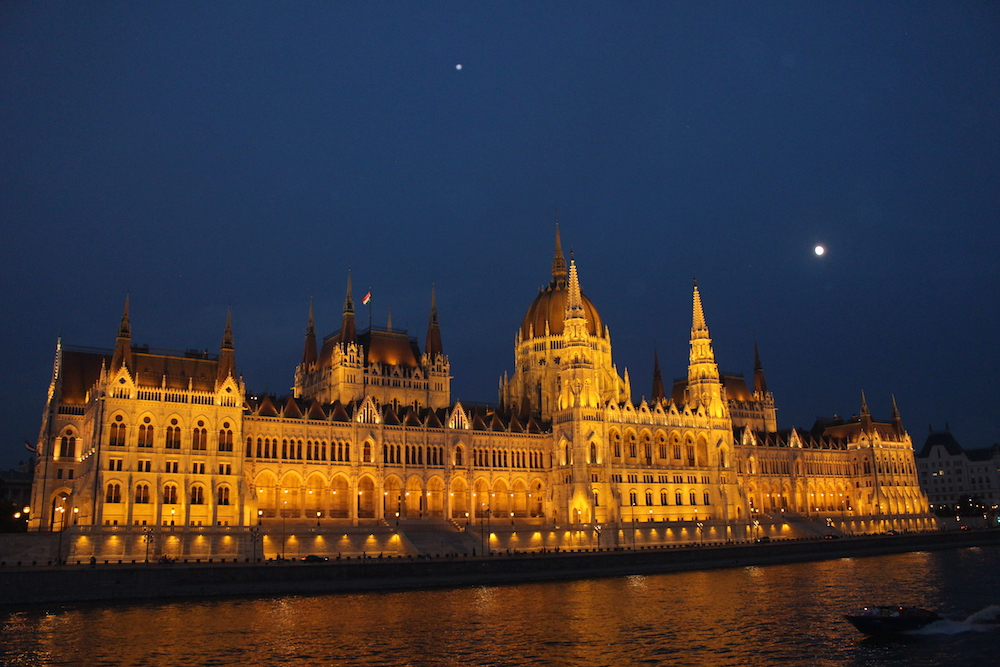 Hungarian Parliament Buildings in Budapest, Viking River Cruises travel