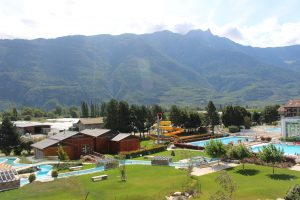 Les Bains de Saillon thermal park and spa