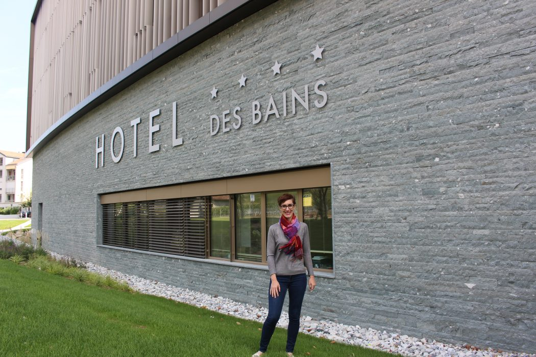 Les Bains de Saillon, thermal baths, hotel, spa, valais, switzerland, swiss, travel, wellness