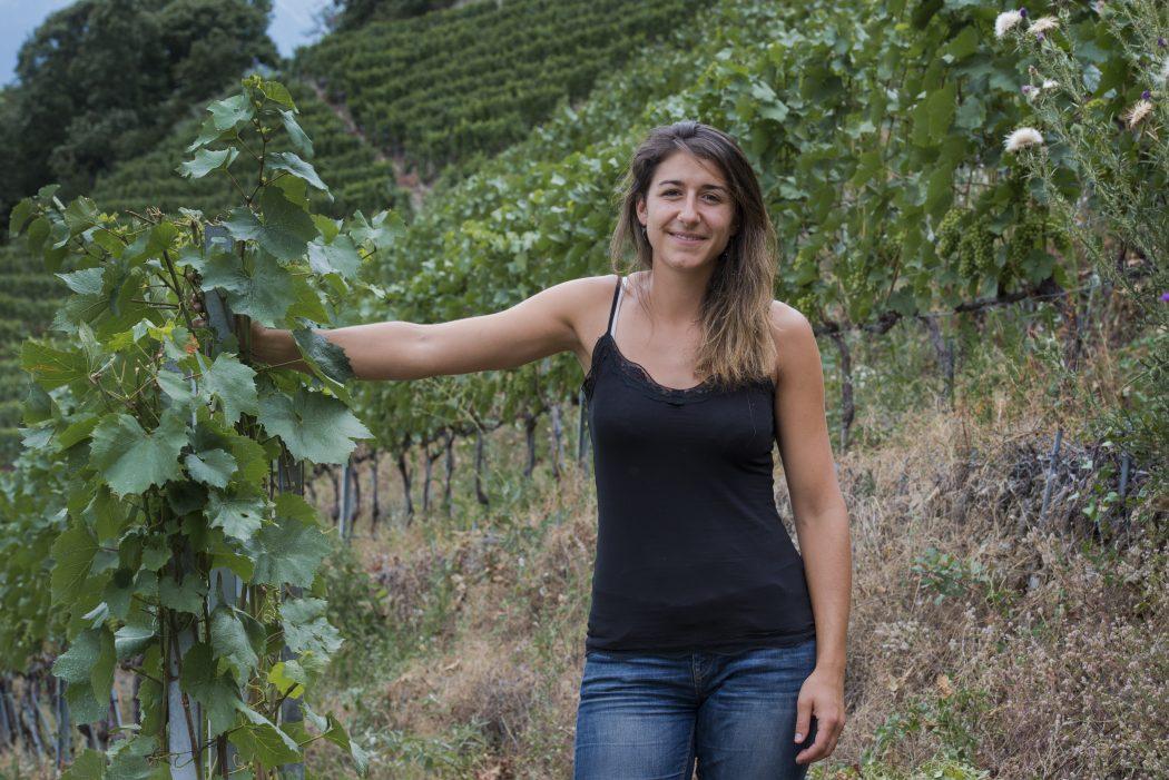 Mathilde Roux, winemaker, wine, swiss, valais, travel, tourism, vineyard
