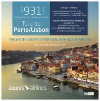 Azores airlines travel deal