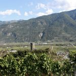 Shannon Skinner travels to Saiilon, Valais, switzerland on a pilgrimage to walk Farinet Path and visit Dalai Lama vineyard