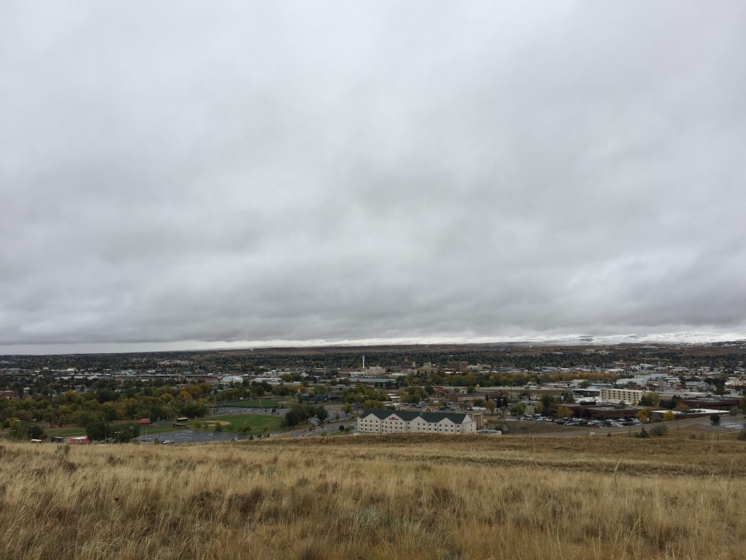 Shannon Skinner travels to Wyoming